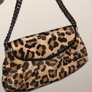 Henri Bendel Leopard Flap Bag